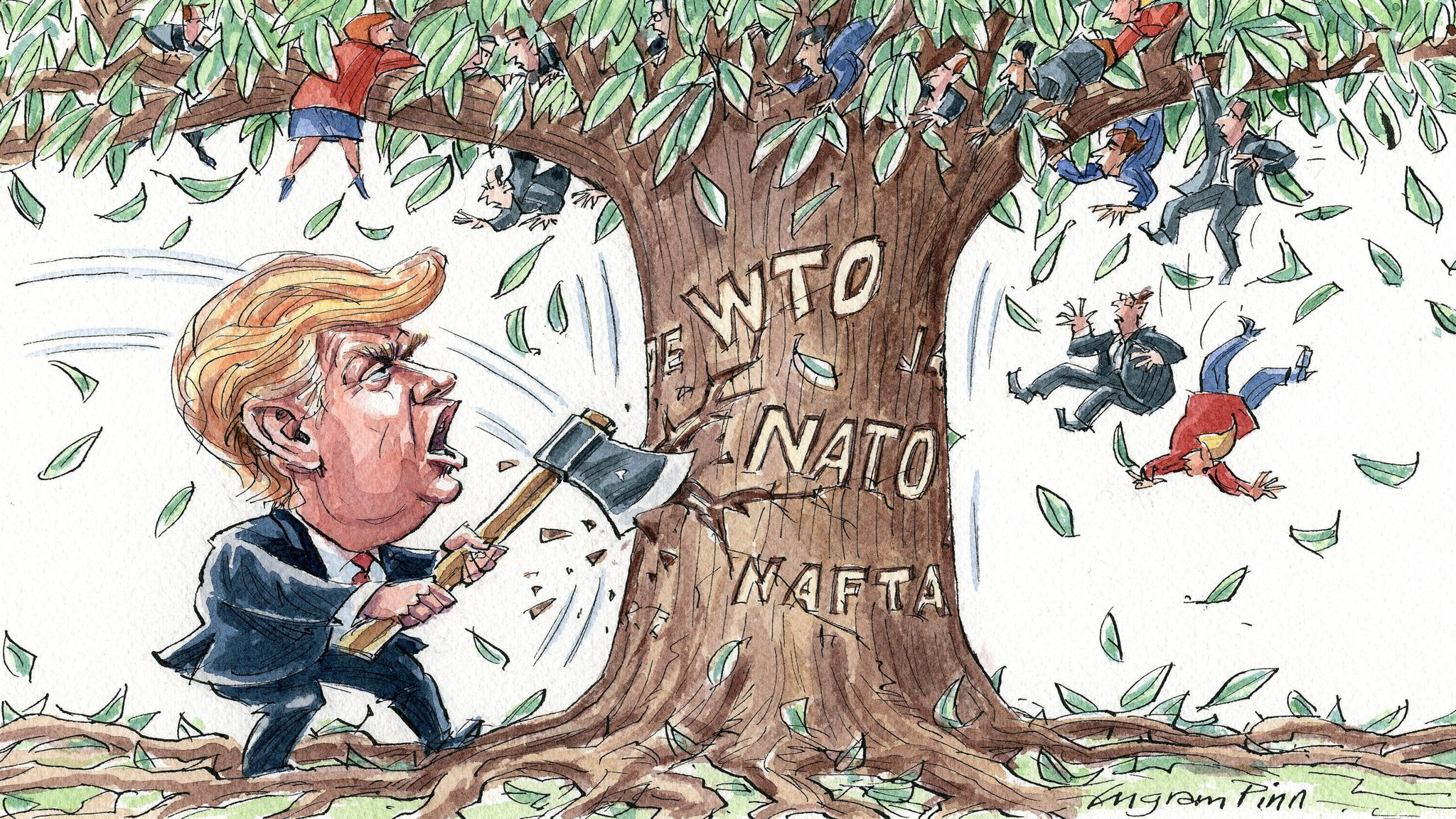 Trump, Security and Trade